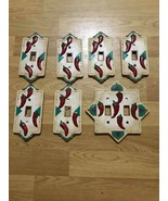 Lot Of 7 Switch plate Covers Southwestern Desert Pueblo Native American ... - $49.49