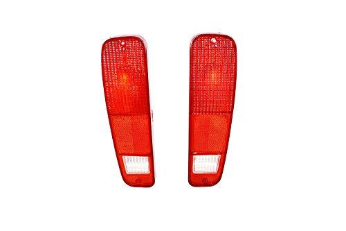 A-Team Performance 2pc Tail Light Set Compatible With 73 74 75 76 77 78 79 FORD