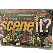 Scene It? The DVD Game Premiere Sports Trivia Game Powered by ESPN Sealed 2005 - $12.86