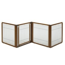 Richell 3-in-1 Convertible Elite Pet Gate, 4-Panel - $239.99