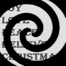 Joy Love Peace Believe Christmas Font 4smp-Digital ClipArt-T shirt - $3.99
