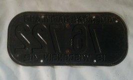"""1945 WISCONSIN License Plate Tab & 1942 License Plate, """"RARE"""" WW2 image 2"""