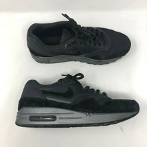 Nike Air Max Women's Shoes Size 8.5 Black Suede Leather Sneakers  (45474... - $24.13