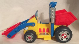 Spider-man & Friends Li'L Dump Truck Action Figure Vehicle 2002 Playwell - $18.80