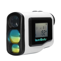 600 Meter Laser Golf Range Finder - 6x Zoom, LCD Display, Fog Mode, Scan... - $157.99
