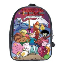 The Adventure Time Fiona School Backpack School Leather Notebook Bags Tr... - $45.21 CAD