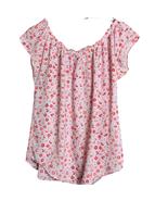 Lauren Conrad Pink Floral Cap Sleeve Top Size XS - $14.00