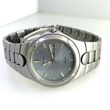 Citizen 100 Eco-Drive Wristwatch Stainless Steel  K53008-Y Grey Dial For... - $79.19