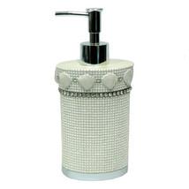 Bathroom Lotion/Soap Dispenser- Beige Popular Bath Shells & Diamonds - $15.59
