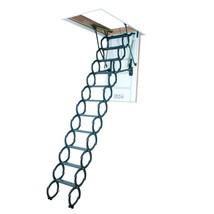 Attic Ladder Steel 350 Lbs Load Capacity 9 ft 6 in 22.5 in x 47 in Styli... - $609.68
