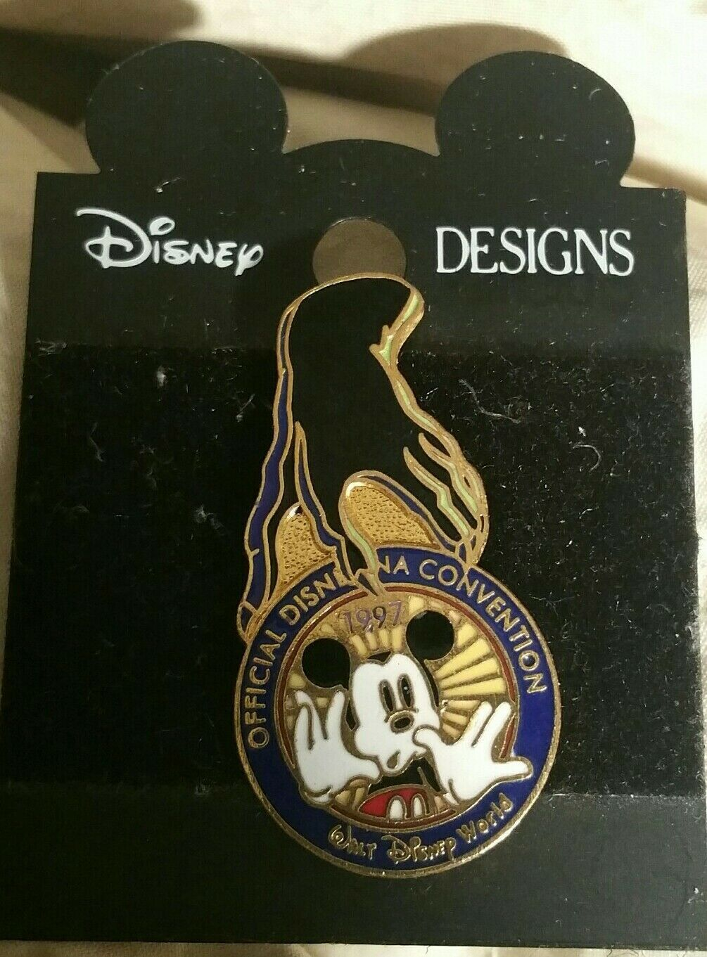 Primary image for Official Disneyana Convention Pin 1997 Chernabog Hand Disney NWT