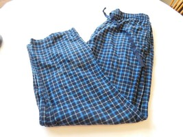 Stafford Sleepwear Sleep Pants Lounge Fleece pants Plaid Size XL Classic... - $29.69