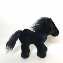 Ganz Webkinz BLACK STALLION Horse Pony Plush Stuffed Animal Toy NO CODE - $18.80