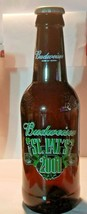 """Budweiser Bottle 15"""" Pitcher Bank Collectible 2001 St. Pat's Patrick's Day - $18.46"""