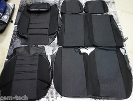 FORD TRANSIT (1+2) 2000- SEAT COVERS Jacquard and leatherette  - $64.35
