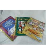 Little Golden Book 3 Christmas theme Little Elf Night Before Animals Eve... - $9.89