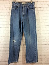 Arizona Boys Jeans Size 18 Slim Relaxed Fit Medium Blue Wash - $14.99