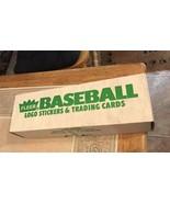 Last one!  NEW SEALED 1988 FLEER BASEBALL FACTORY Set - Green Label - $16.95