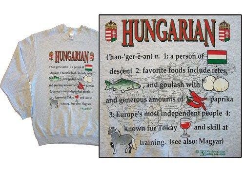 Hungary national definition sweatshirt 10255