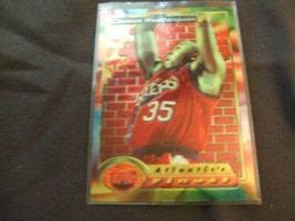 1993-94 Topps Finest  #91 Clarence Weatherspoon -Philadelphia 76ers- - $3.12