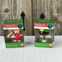 Hallmark Peanuts Woodstock and Lucy Christmas Tree Ornament 50th Annive... - $24.01
