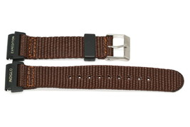 Timex 20mm Brown Expedition Indiglo Camper Nylon Watch Band Strap Rare - $11.87