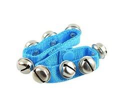 Blue,2Pcs Handbell Musical Instruments/Kids Toy