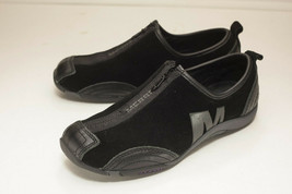 Merrell US 7.5 Black Zip Slip on Flat Woman's - $56.00