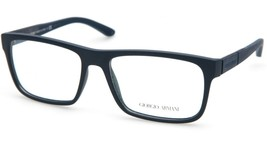 New GIORGIO ARMANI AR7042 5065 BLUE EYEGLASSES FRAME 56-16-140mm B38mm I... - $113.84