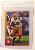 2009 Upper Deck First Edition Patrick Willis #128 SF 49ers Football Card... - $0.94