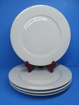 "IKEA Susan Pryke 365+ White Porcelain 10.5"" Dinner Plates Bundle of 4 - $37.24"