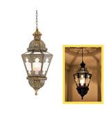 Marakesh Moroccan Hanging lamp Moroccan Chandelier Ceiling Light - $195.00