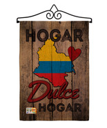 Country Colombia Hogar Dulce Burlap - Impressions Decorative Metal Wall ... - $33.97