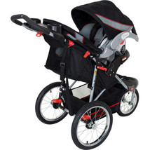 Baby Jogger Travel System Multi Position Recline Stroller Safety Car Seat w Base - $198.33