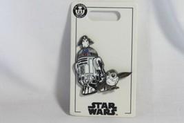 "Disney Pin STAR WARS (new) R2-D2 & PORGS -  1 .75"" H - $20.70"