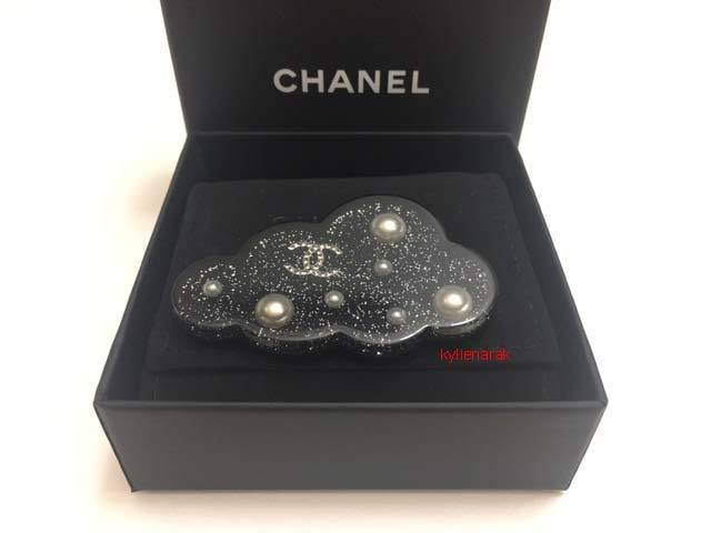 72eccdfea5d Img 6629. Img 6629. Previous. LOWER PRICE! CHANEL 100% Authentic NIB 2017  Beautiful Black Resin Cloud Brooch