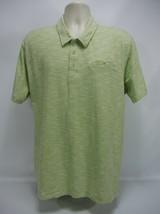 CUBAVERA  mens polo golf Shirt Size XXLGreen & White color -100% Cotton - $12.86