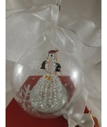 "LED Christmas Globe Glass Ornament with Penguin Color changes 3"" - $18.80"