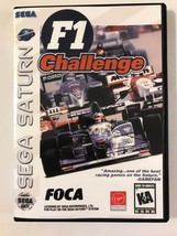 F1 Challenge - Sega Saturn - Replacement Case - No Game - $7.91