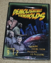 NEW & SEALED DVD - Demolishing Strongholds Turning Teens From Passive to... - $6.99