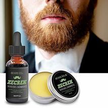 Best 9 in 1 Beard Grooming & Growth Kit w/Beard Oil,Beard Shaping Tool,Beard Was image 6