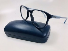 New LACOSTE L2811 424 Blue Eyeglasses 52mm with Case & Cloth - $64.10