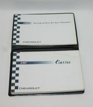 2004 Chevrolet Classic Factory Original Owners Manual Book Portfolio #47 - $17.77