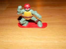 2013 Teenage Mutant Ninja Turtle Raphael Action Figure TMNT McDonald's Snowboard - $8.00