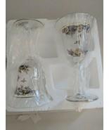 Bradford Exchange Lena Luz Sparkling Bouquets Crystal Stemware Collectio... - $29.65