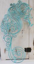 Metal Seahorse Wall Sculpture - $23.48