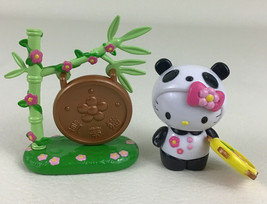 Hello Kitty Happy Forest Panda Dream World Series with Accessories 2002 Bandai - $22.23