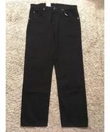 NWT Mens Wrangler Hero Premium Quality Black Jeans, Sz 36x30 - $19.98