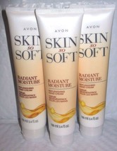 Avon Skin So Soft Radiant Moisture Replenishing Hand Creme Lot of 3  - $9.89