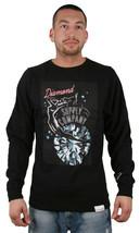 Diamond Supply Co Red Light District Sexy Girl Black Crewneck Sweater Amsterdam